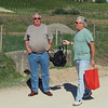 Chuck and Dave at Terra Bianca Winery, Province of Siena