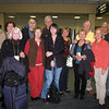 At Dulles airport.<br /> Back row: Barb, Terry, Mark, Carol, Glenn, Glenn<br /> Front: Carol, Mary, Carolyn, Sharon, Monica