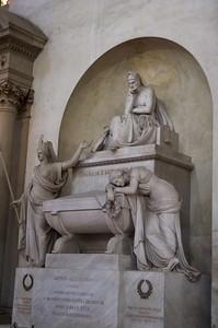 Dante's Tomb, Santa Croche, Florence
