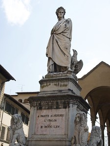 Dante Alighiere Monument @ Santa Croche