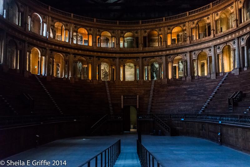 2014  Teatro Farnese: Parma, Italy