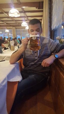 Litrowe piwo po podrozy