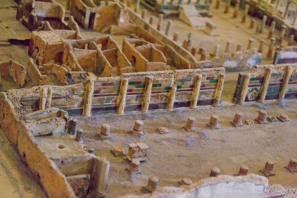 Scale model of Pompeii