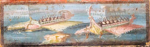 Naval fresco