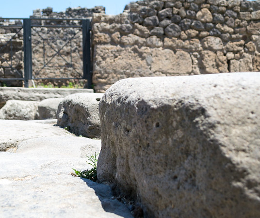 Ancient pedestrian crossing