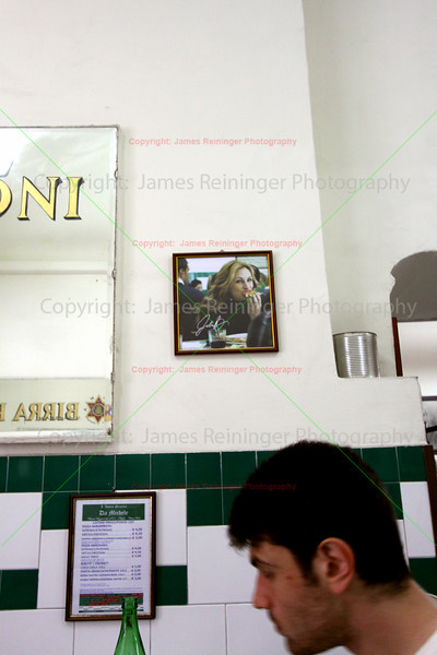 Where Julia Roberts ate pizza in the movie Eat, Pray, Love,