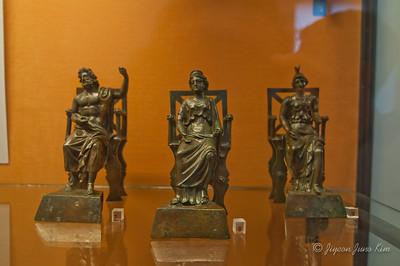 Zeus, Hera and Athena (Jupiter, Juno and Minerva)
