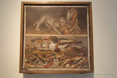 Mosaic from a house of Pompeii