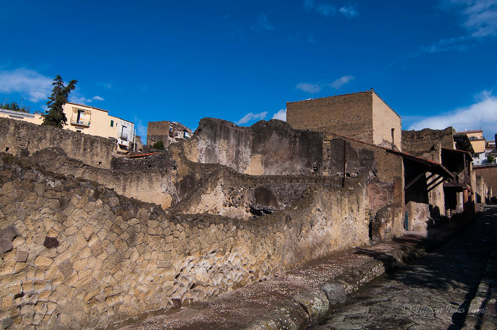 Herculaneum streets