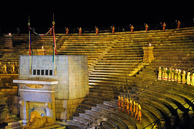 The arena in Verona - AIDA