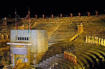 The arena in Verona - AIDA