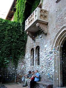 Casa Capuletti (di Giulietta) - from Romeo and Juliet