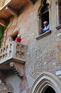 """Verona - """"Juliet's balcony"""""""