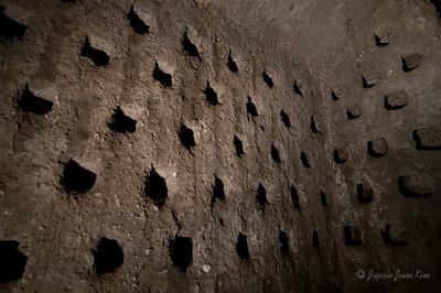 Pigeon house at underground of Orvieto (c)Runaway Juno