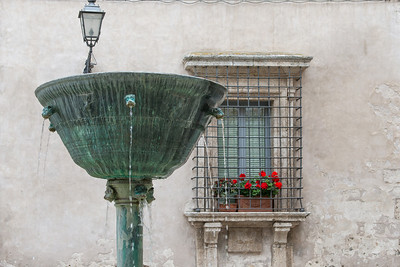 One of several fountains in Narni.