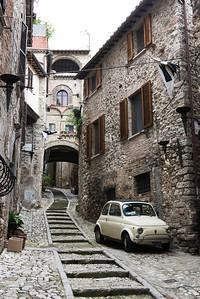 A street in Narni.