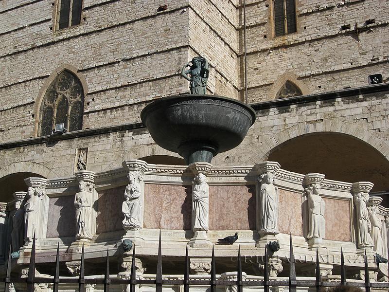 Fontana Maggiore in the Piazza IV Novembre