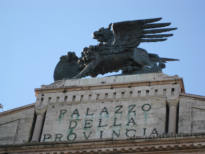 The Griffen; city symbol of Perugia