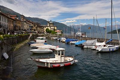 Cannobio at the Lago Maggiore