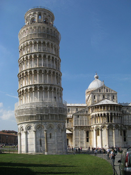 Torre Pendente or the Leaning Tower of Pisa