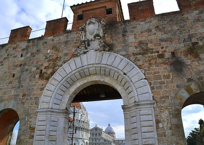 Entering Pisa