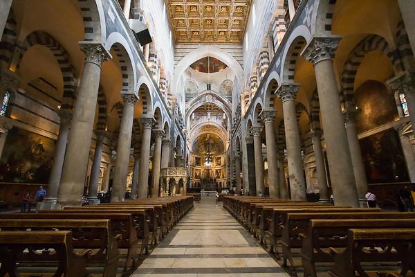 Interior of the Duomo
