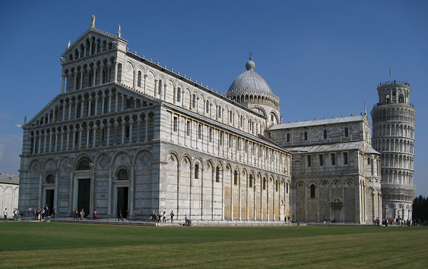 Piazza dei Miracoli (Miracles Square) also known as Piazza dei Duomo