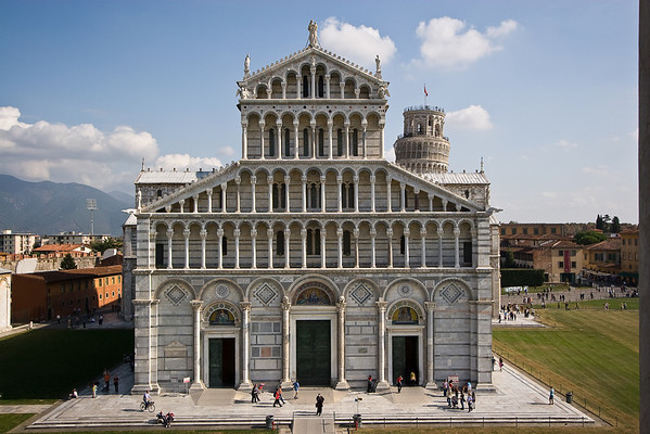 The Duomo as viwed from the Baptistery