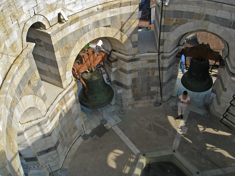 Inside the Leaning Tower