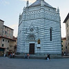 Pistoia - the babtistery