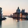 Taken from the Ponte dell'Accademia. A view of the Basilica di Santa Maria della Salute on the Grand Canal in Venice.