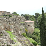 The old waterfront of Pompeii.
