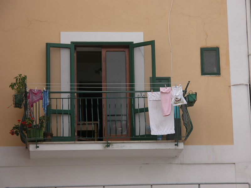 Ponza, Italy<br /> Window 2