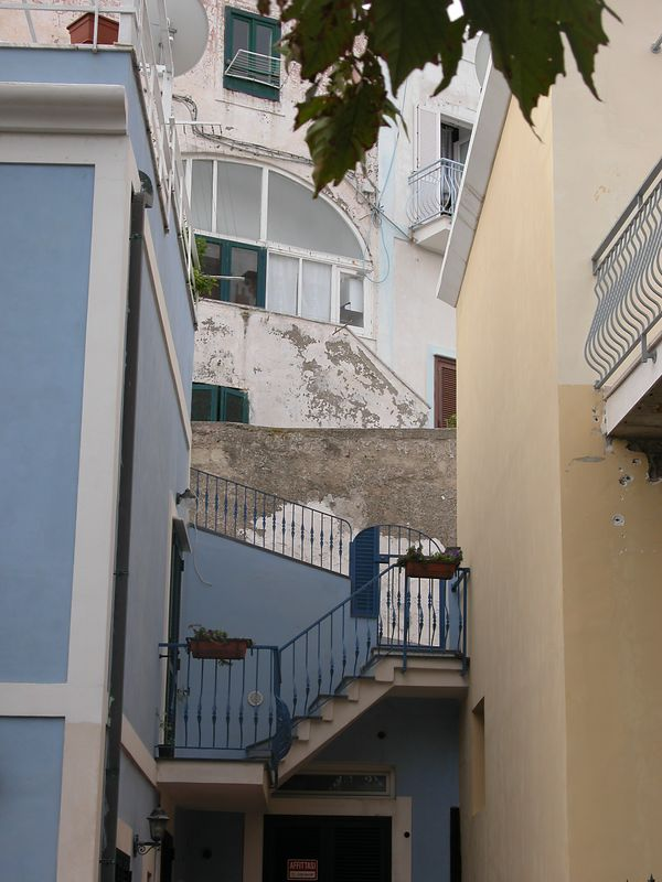 Ponza, Italy<br /> Stairs