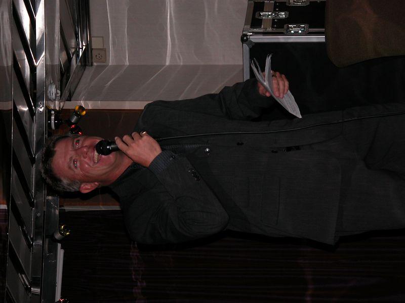 Richard. The tour director