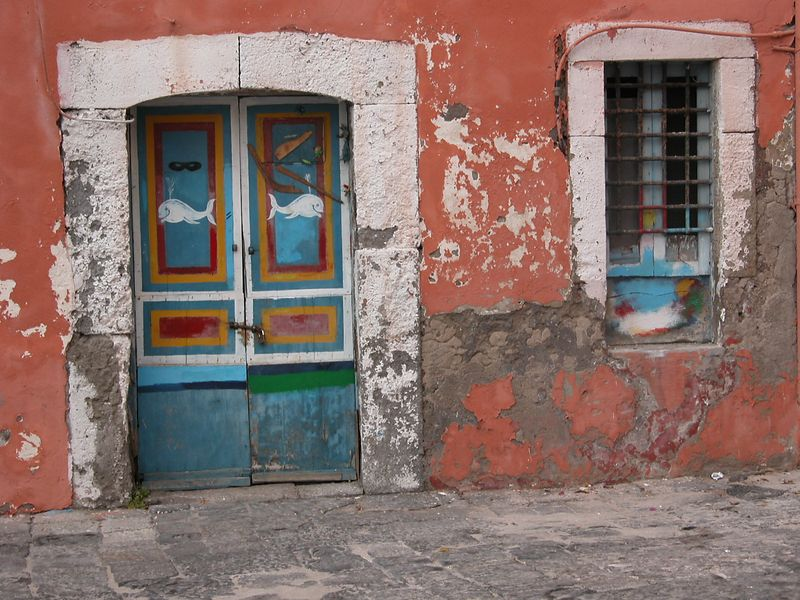 Ponza, Italy<br /> Door