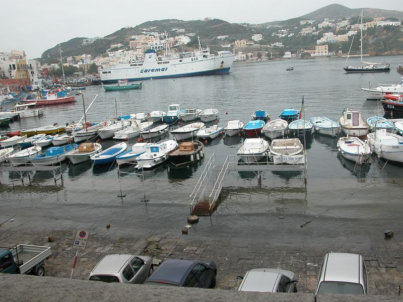 Ponza, Italy<br /> The Harbour