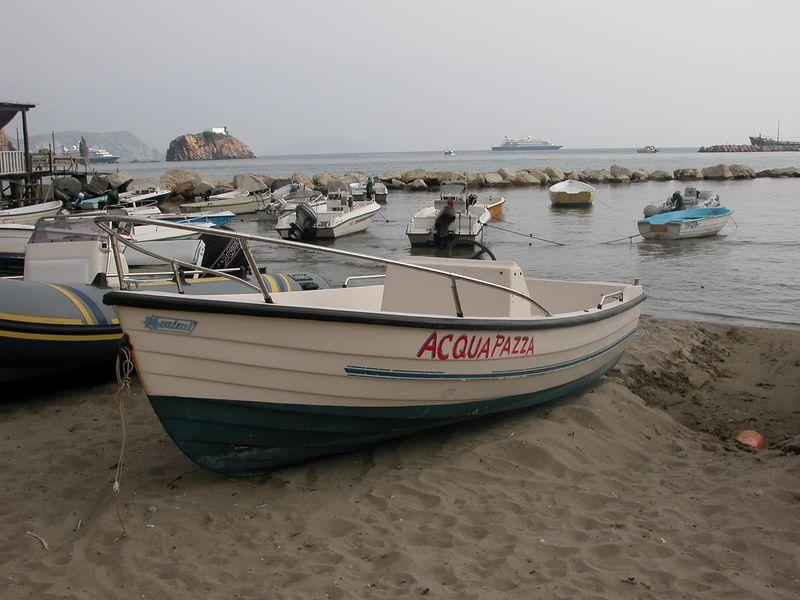 Ponza, Italy<br /> Boats