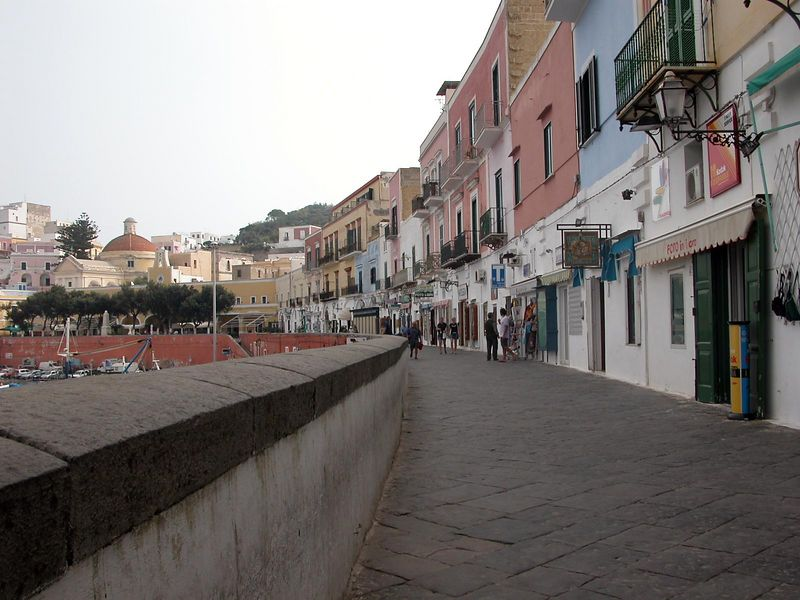 Ponza, Italy<br /> At the harbour