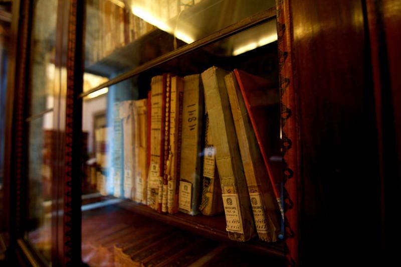 Books.  Delicious books.