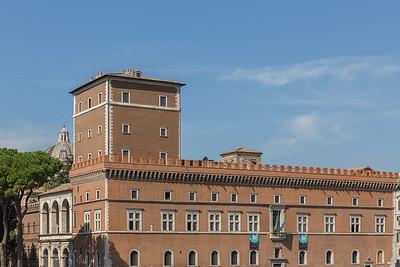 Palazzo Venezia with Mussolini's balcony