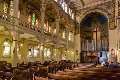 Chiesa Valdese (interior)