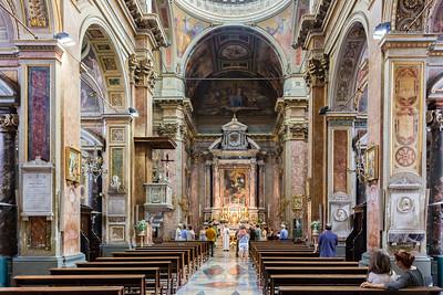 Chiesa di San San Rocco all'Augusteo (interior)