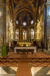 Basilica Santa Maria Sopra Minerva (interior)