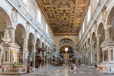 Basilica Santa Maria in Aracoeli (interiror)