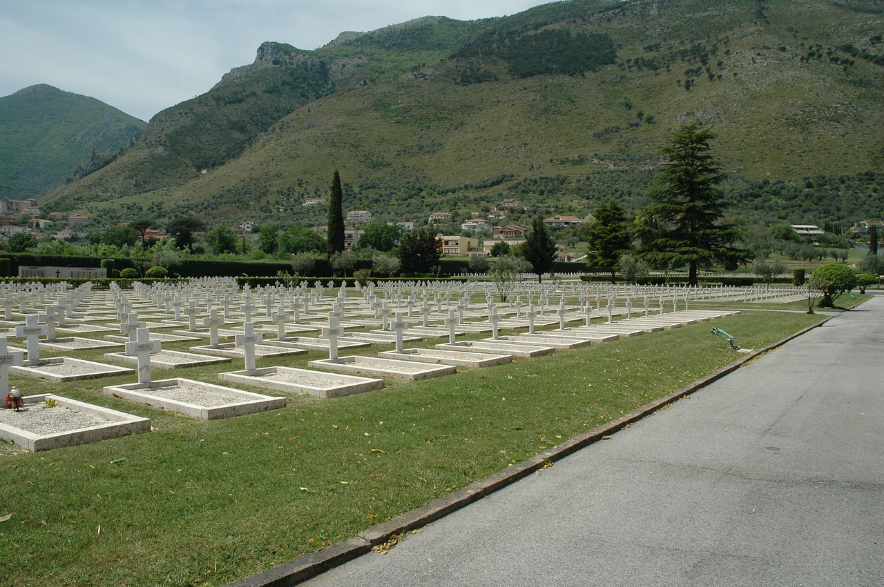 French Cemetery at Monte Cassino