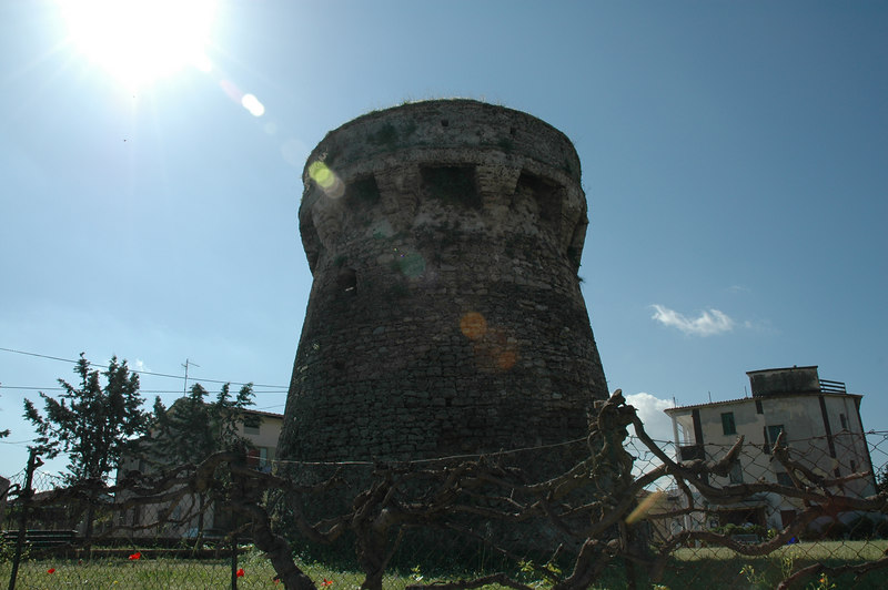 Paestum medieval tower