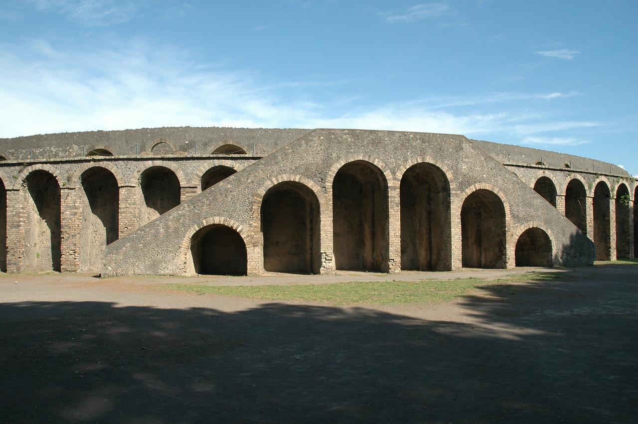 Ampitheater entrance