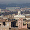 Rome from the terrace of the Quadrigas. Telephoto version of the previous Pano