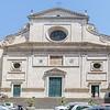 Façade, Basilica di Saint Agostino.